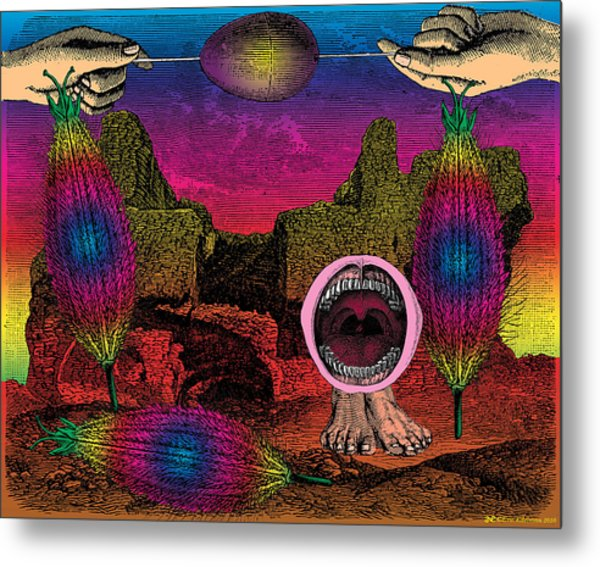The Seed-pod Song Metal Print