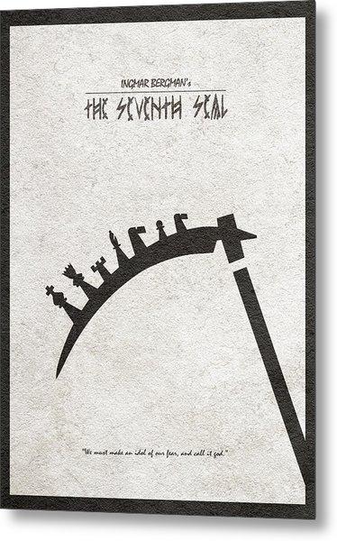 The Seventh Seal Aka Det Sjunde Inseglet Metal Print