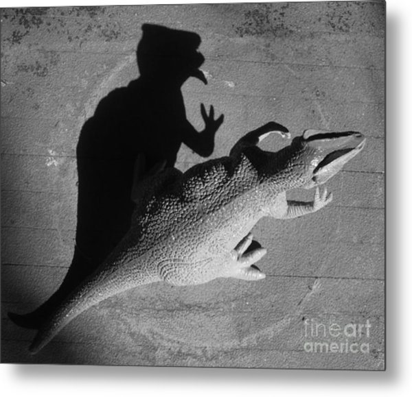 The Shadow Is Mightier Img 2095 Metal Print