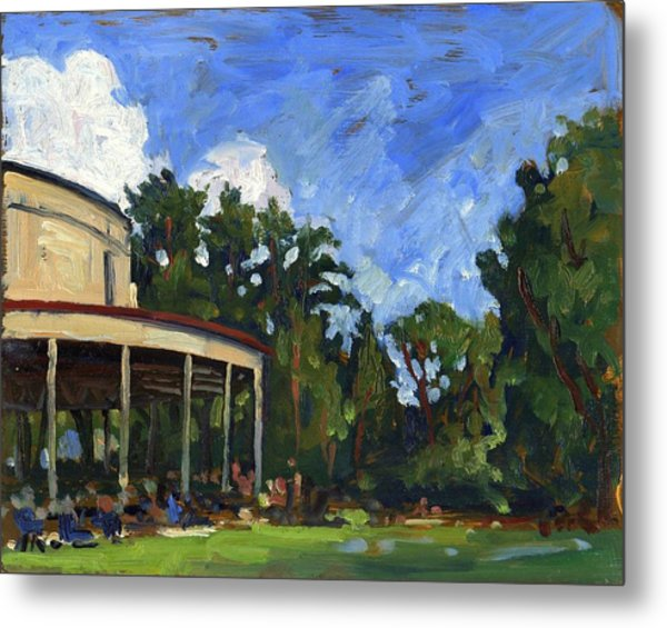 The Shed Tanglewood Metal Print