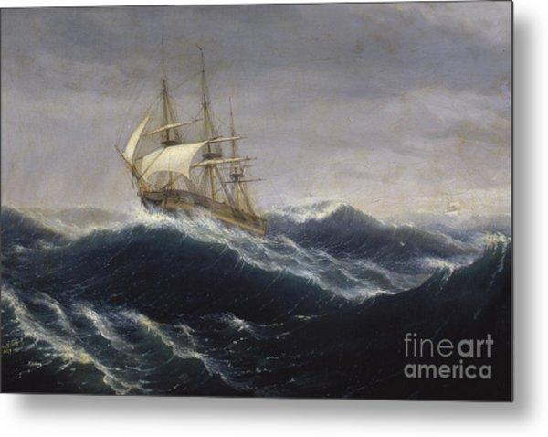 The Ship Ohio, 1829 Metal Print
