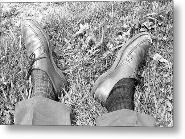 The Shoes Of A Teaching Assistant, 1979 Metal Print