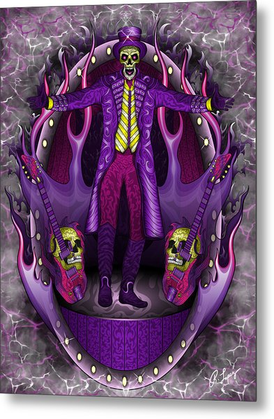 The Show Stopper Metal Print