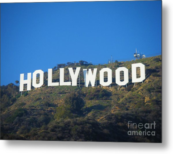 The Sign Metal Print