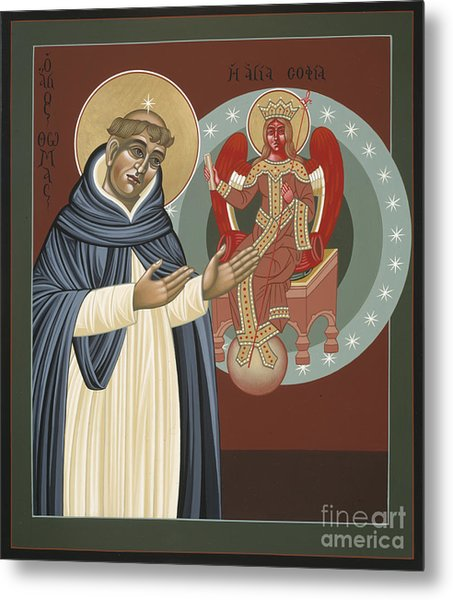 The Silence Of St Thomas Aquinas 097 Metal Print