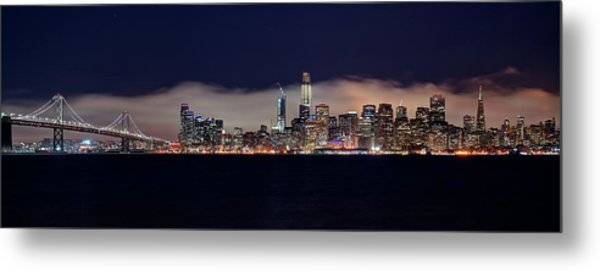 The Silken Fog Metal Print