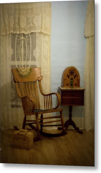 The Sitting Place Metal Print