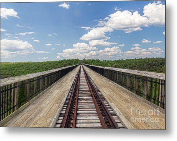 The Skywalk Metal Print