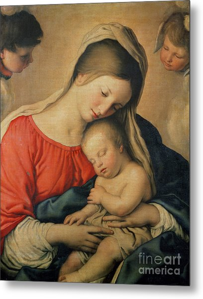 The Sleeping Christ Child Metal Print