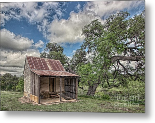 The Smoke House Metal Print