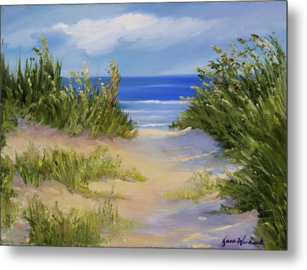 The Soft Winds Of Summer Metal Print by Jane Woodward