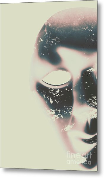 The Solace Of Stillness Metal Print