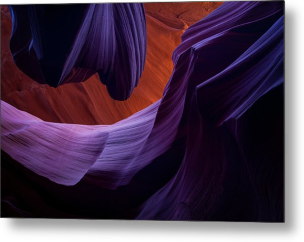 The Song Of Sandstone Metal Print