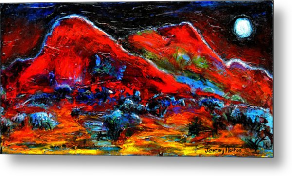 The Sound Of The Night Metal Print