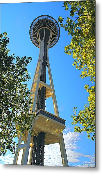 The Space Needle Metal Print