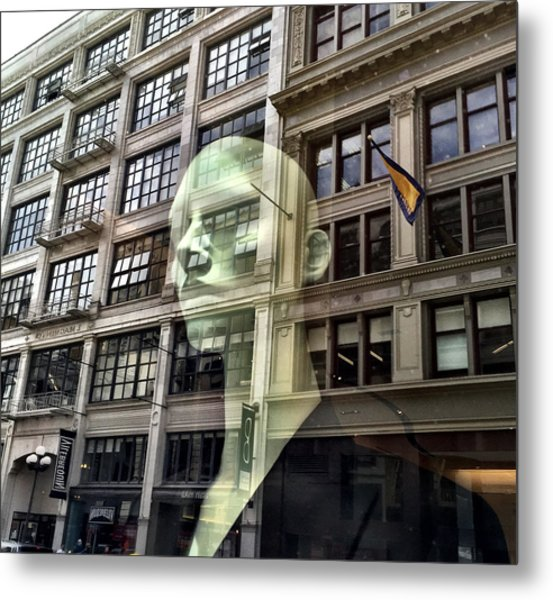 The Spirit Of San Francisco Metal Print