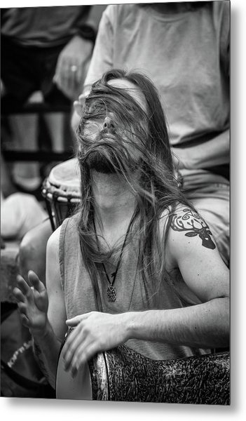 The Spirit Of The Rhythm Metal Print by John Haldane