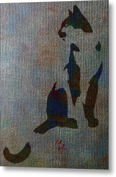 The Spotted Cat Metal Print