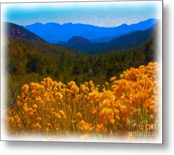 The Spring Mountains Metal Print