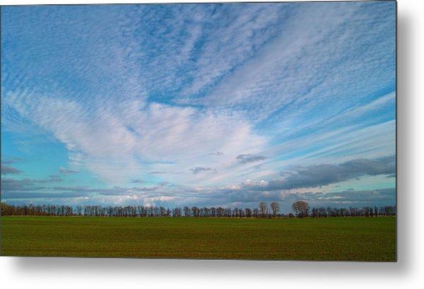 The Springtime Sky. Horytsya, 2010. Metal Print