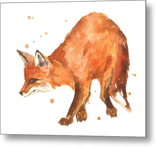 The Stalker Metal Print by Alison Fennell