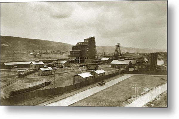The Stanton Colliery Empire St. The Heights Wilkes Barre Pa Early 1900s Metal Print