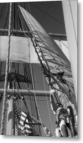 The Star Of India Mast Metal Print