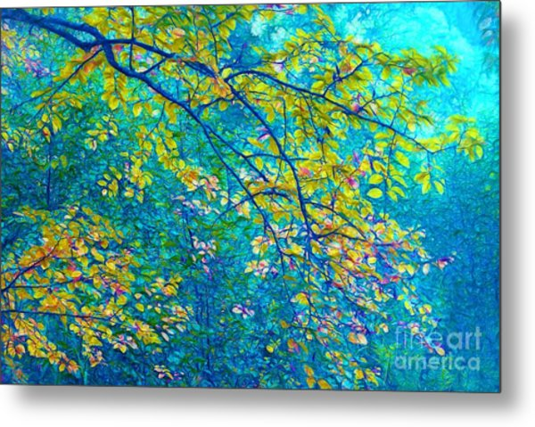 The Star Of The Forest - 773 Metal Print