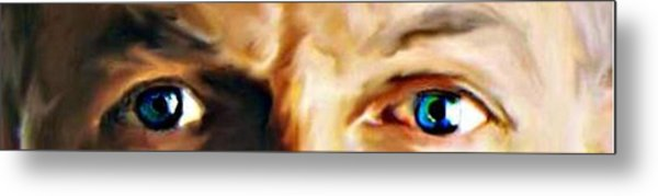 The Stare Metal Print by Crystal Webb