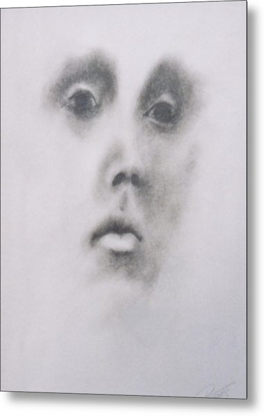 The Stare Two Metal Print