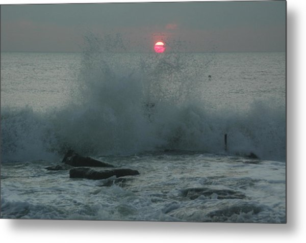 The Start Of A New Day Metal Print by See Me Beautiful Photography