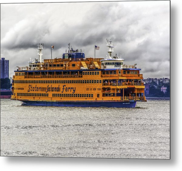 The Staten Island Ferry Metal Print