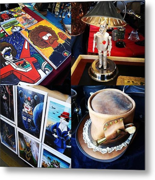 The Steampunk Industrial Show Was Metal Print