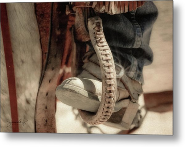The Stirrup Metal Print