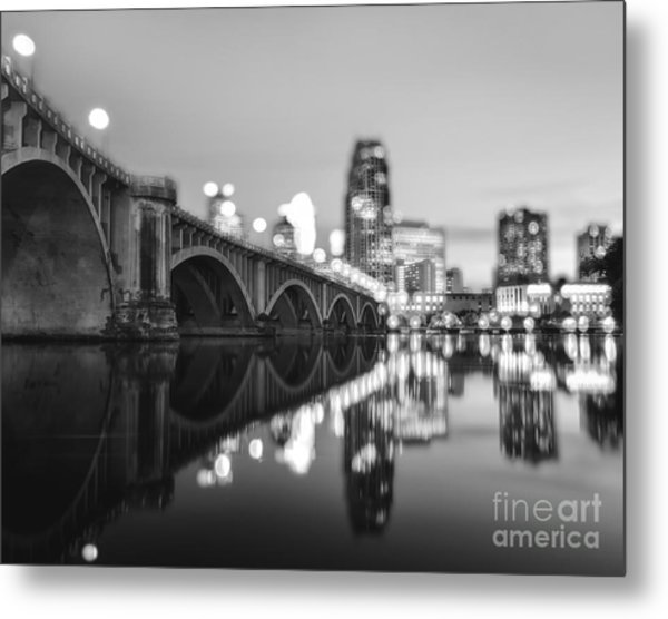 The Central Avenue Bridge Metal Print