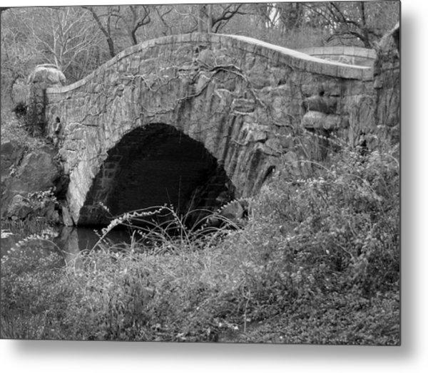 The Stone Bridge Metal Print by Dennis Curry