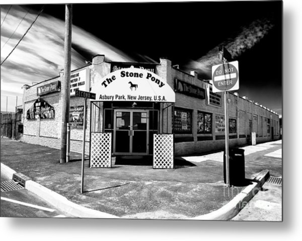 The Stone Pony In Asbury Park Metal Print