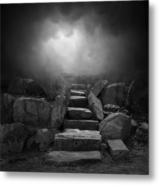 The Stone Steps I Metal Print