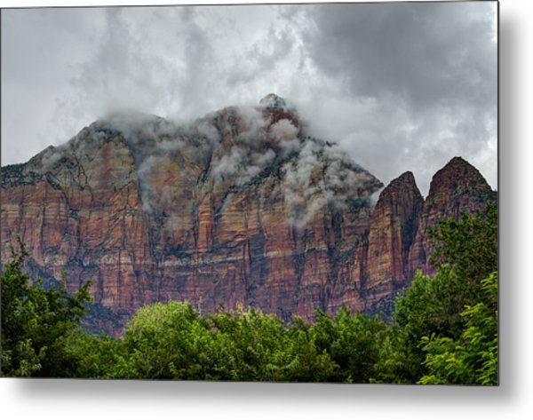 The Storm Clears Metal Print
