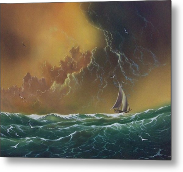The Storm Metal Print by Don Griffiths