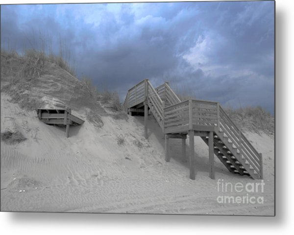The Storm Is Here Metal Print