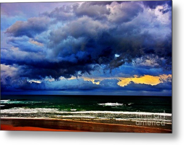 The Storm Roles In Metal Print