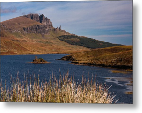 The Storr Metal Print