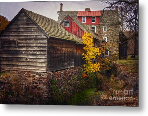 The Stover-meyers Mill Metal Print