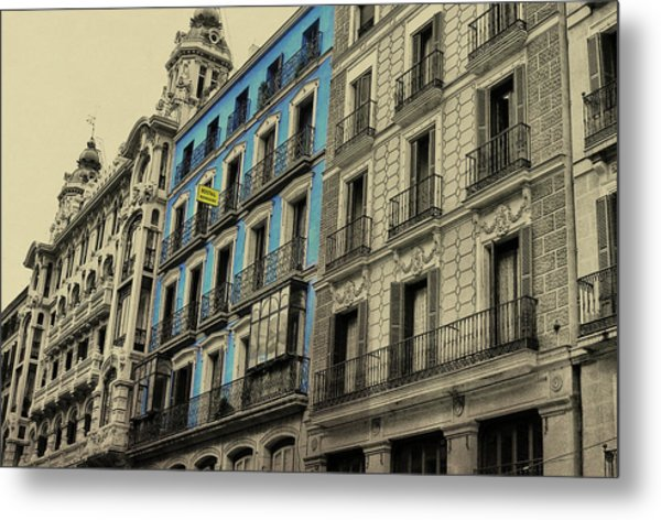 The Streets Of Toledo Metal Print by JAMART Photography