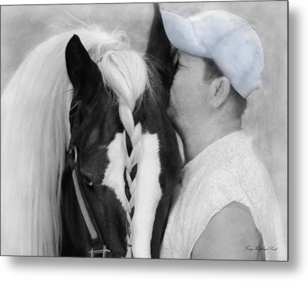 The Strong Bond Between Friends Metal Print