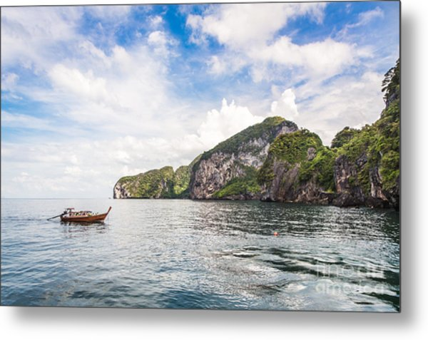 The Stunning  Koh Mook In The Trang Island Metal Print