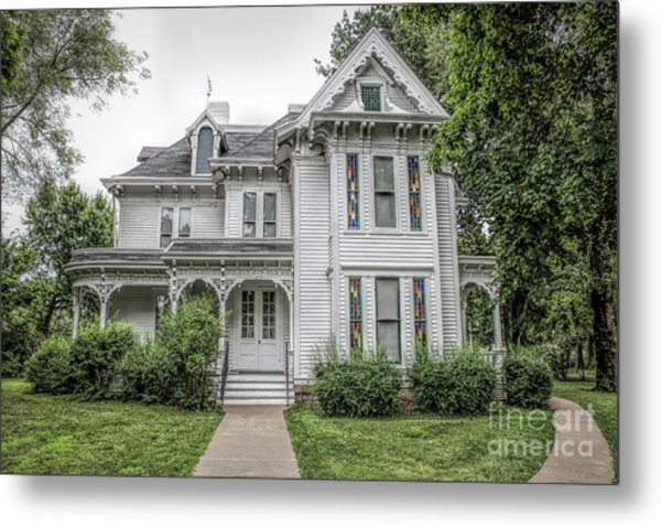 The Summer White House Metal Print