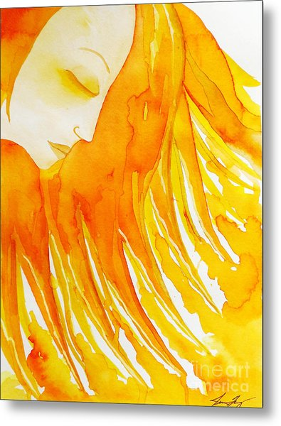 The Sun Goddess Metal Print