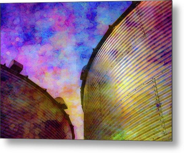 The Sun Sets The Stars Appear 4358 Idp_2 Metal Print